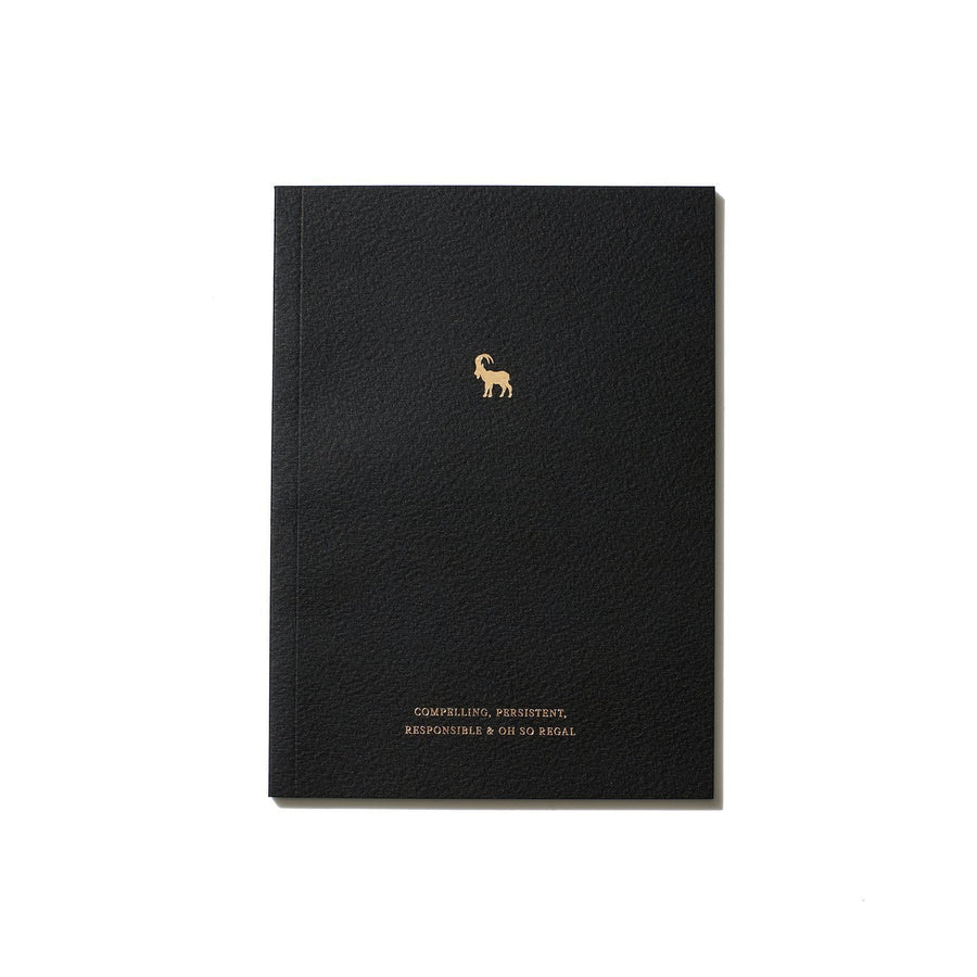 An Organised Life Capricorn Zodiac Notebook