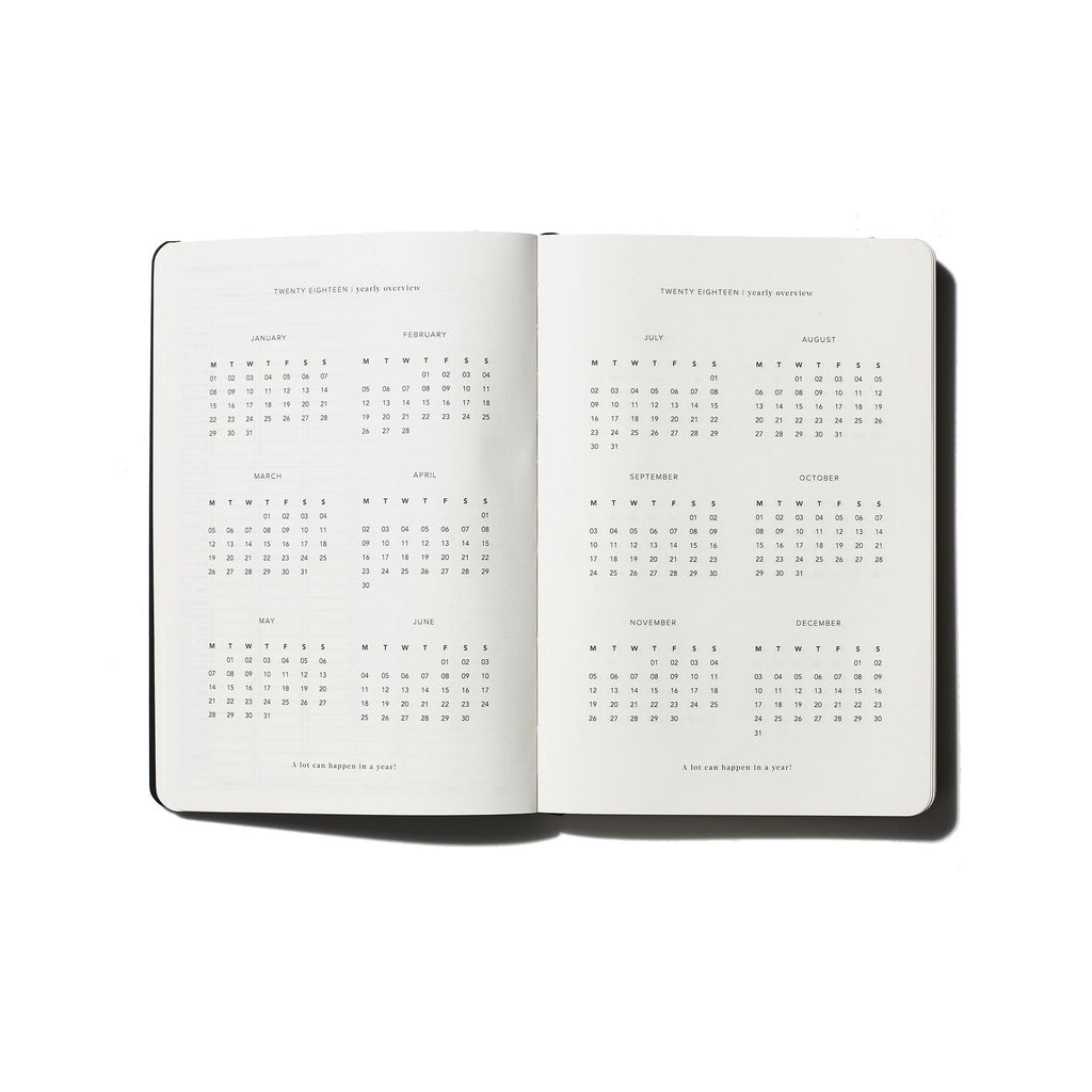 An Organised Life Daily Planner 2018