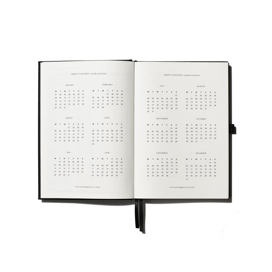 An Organised Life Signature Diary and Pen 2018