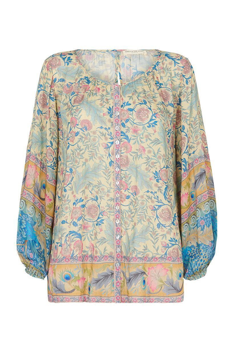 Spell Oasis Blouse Opal