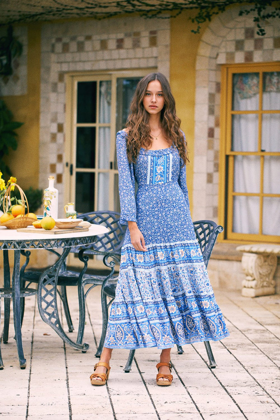 Arnhem Esmee Midi Dress Lakeside