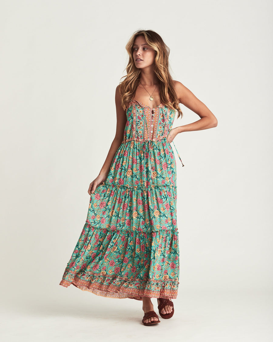 Arnhem Muse Sundress Verde