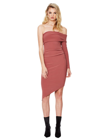 Bec and Bridge Love Ruler Asym Dress Lipstick