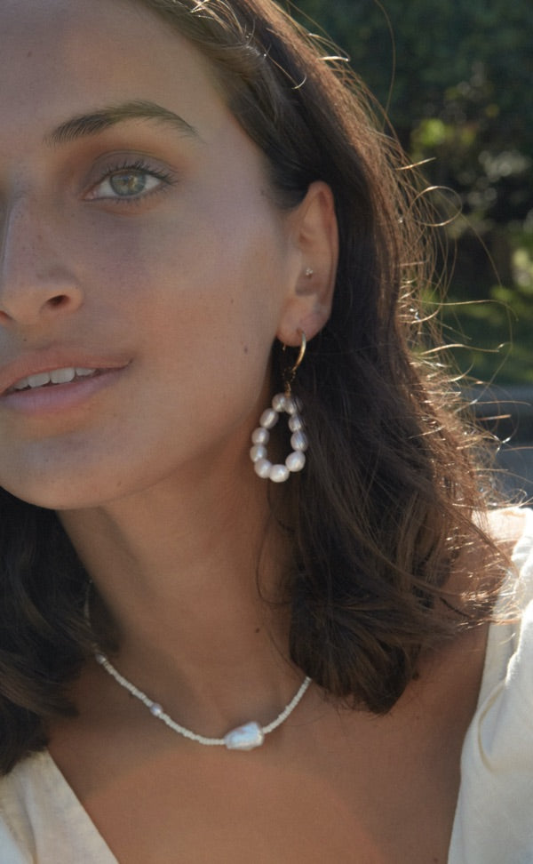 Mavis Pearl Earrings