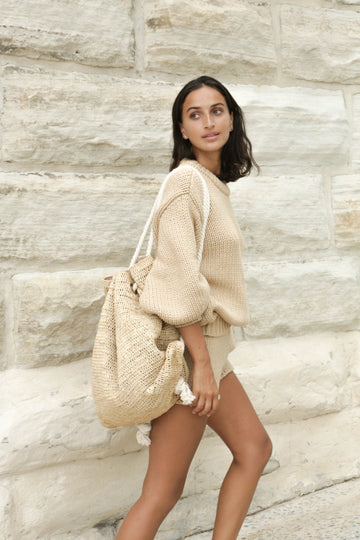Matilda Sisal Backpack