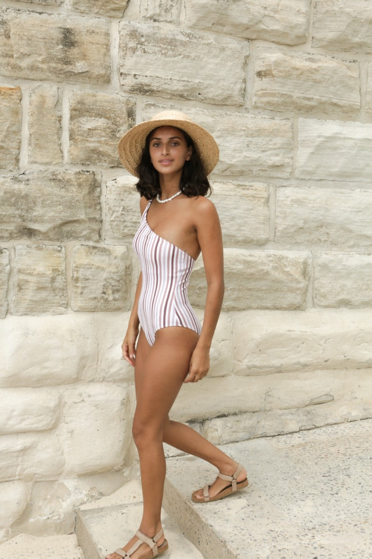 Peony Parfait One Shoulder One Piece