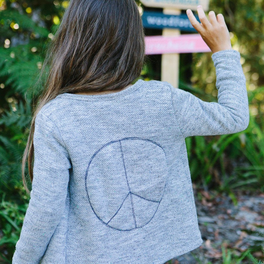 Children of the Tribe Peace Cardigan - Call Me The Breeze - 4