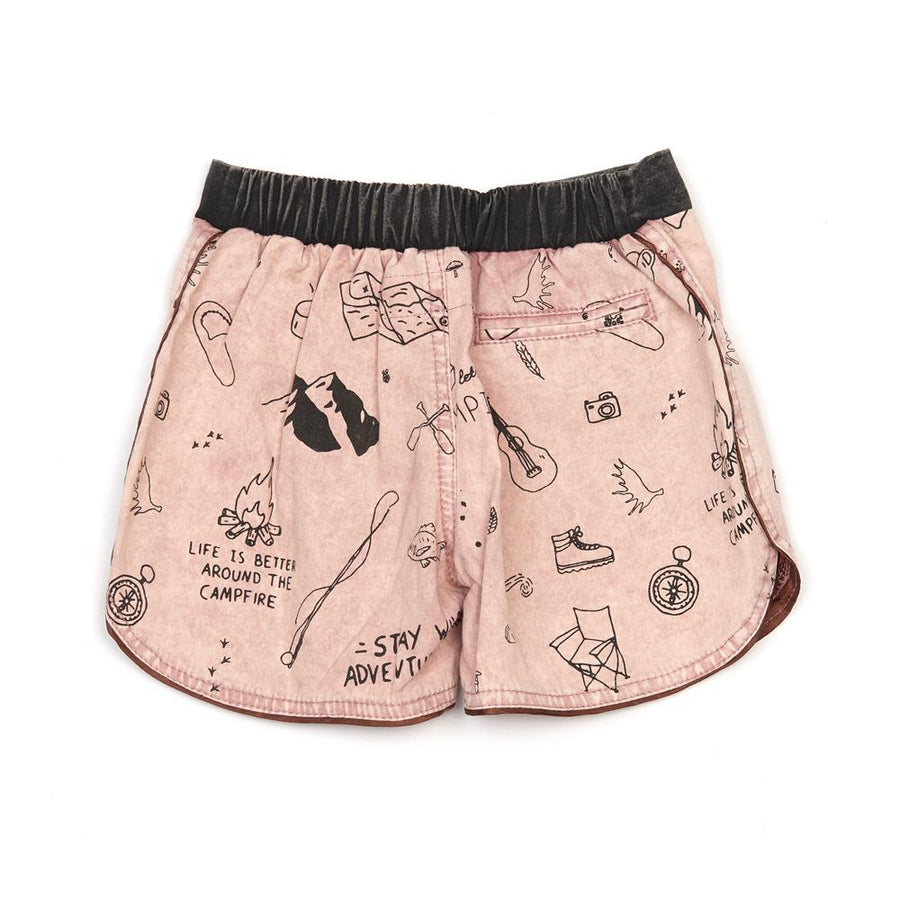 Children Of The Tribe Campground Boy Shorts
