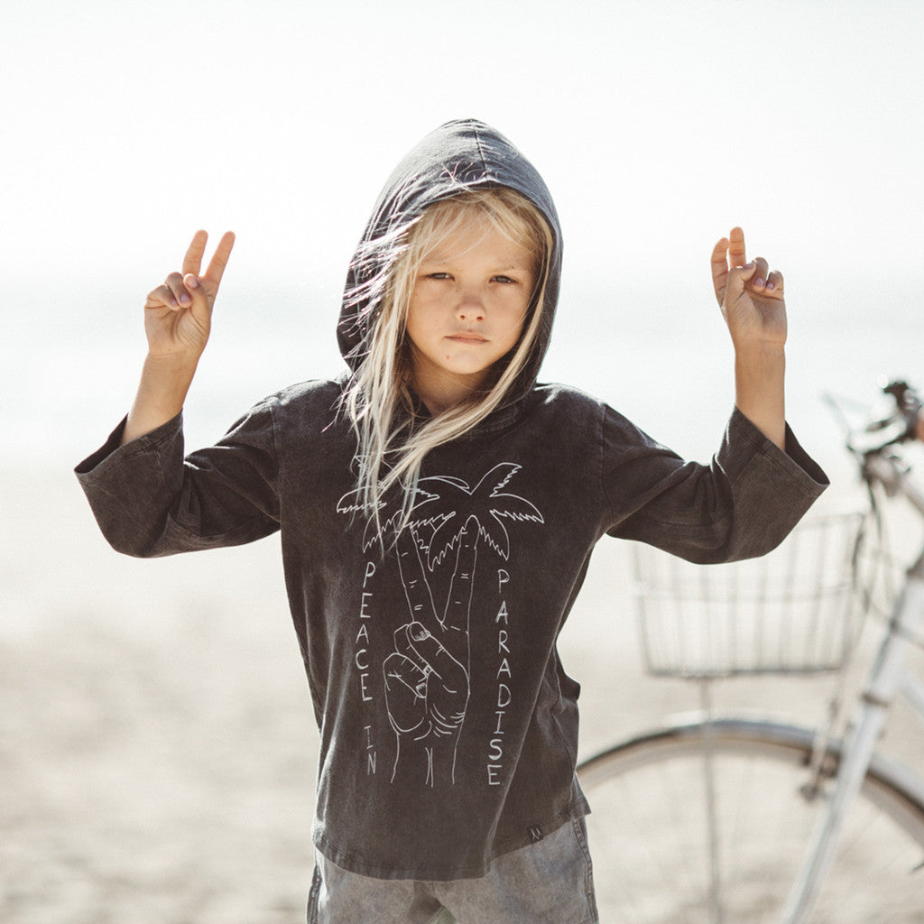 Children of the Tribe Peace in Paradise Hooded Tee - Call Me The Breeze