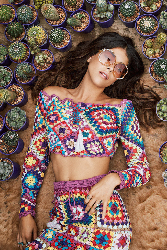 Spell Carnaby Crochet Crop - Call Me The Breeze - 4