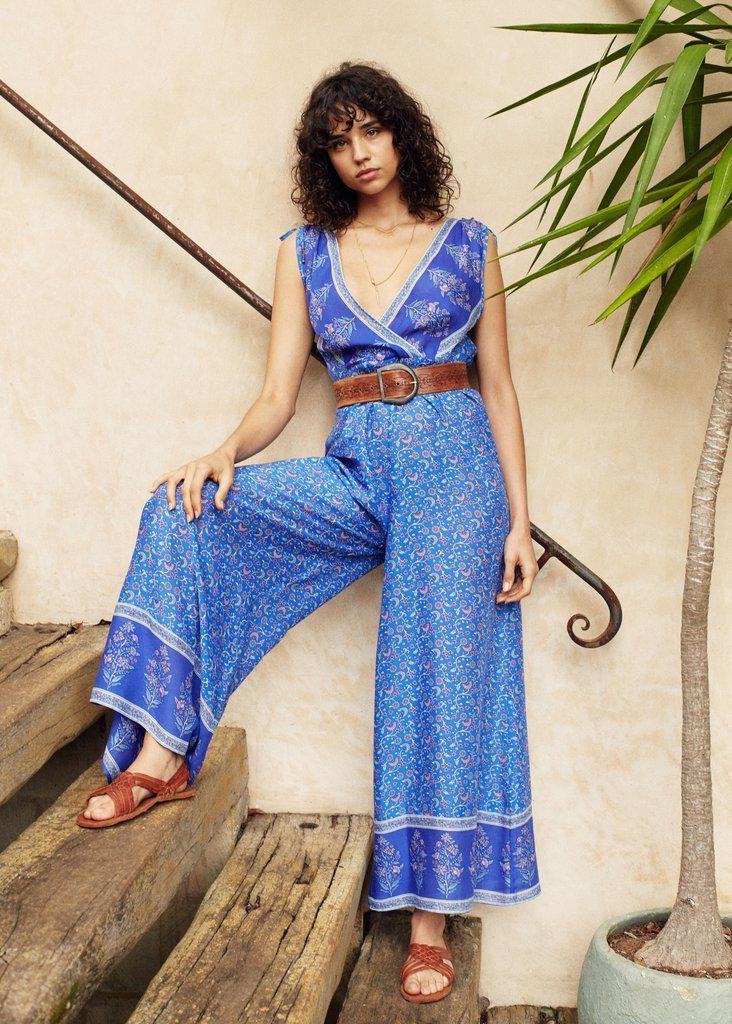 Arnhem Wisteria Jumpsuit Moonlight Blue