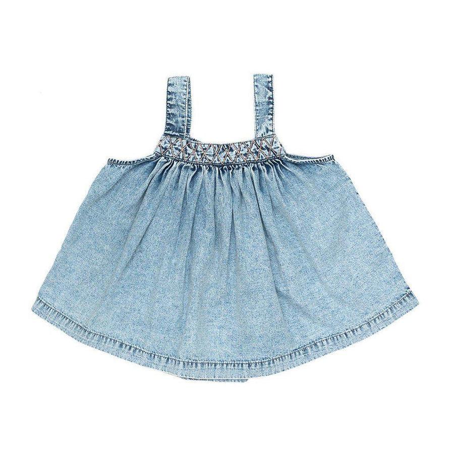 Children Of The Tribe Chambray Swing Top