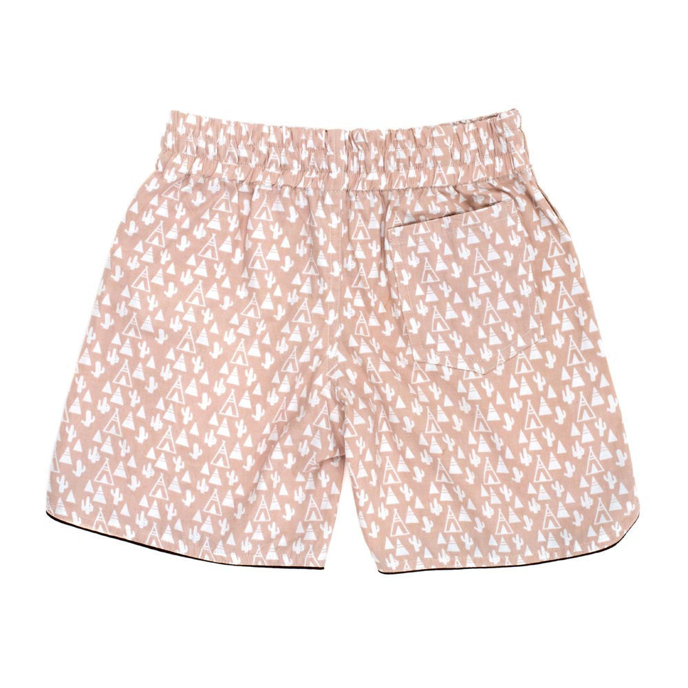 Children of the Tribe Desert Camper Drawstring Shorts - Call Me The Breeze