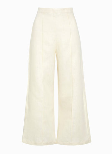 Faithfull The Brand Dasha Pants Plain Creme