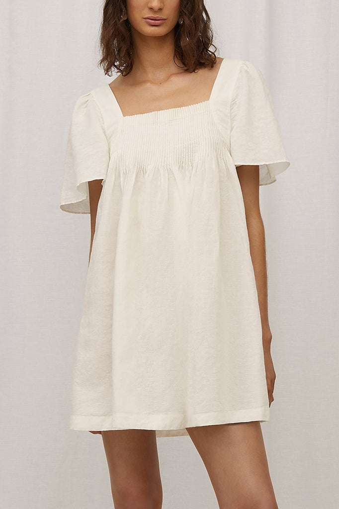 Steele Denisa Dress Blanc