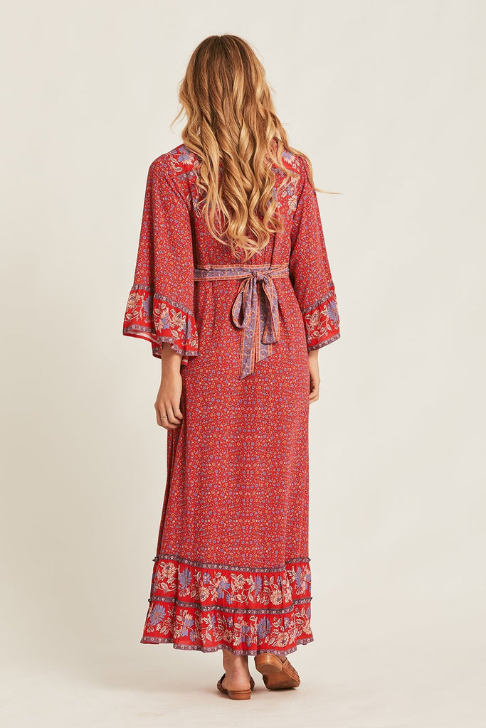Arnhem Ophelia Maxi Dress Salsa