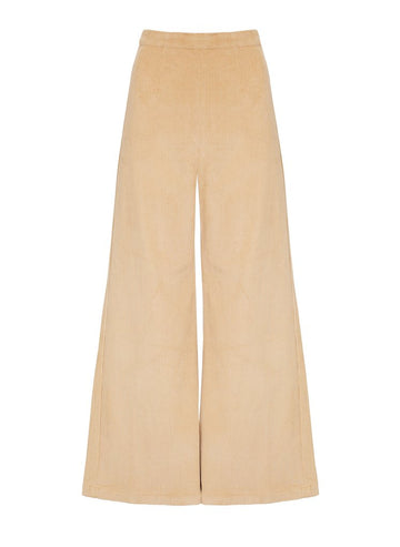 Faithfull Scelsi Pants Plain Wheat