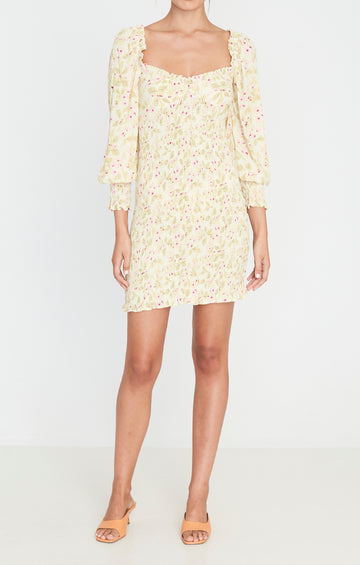 Faithfull Gombardy Mini Dress Adele Floral