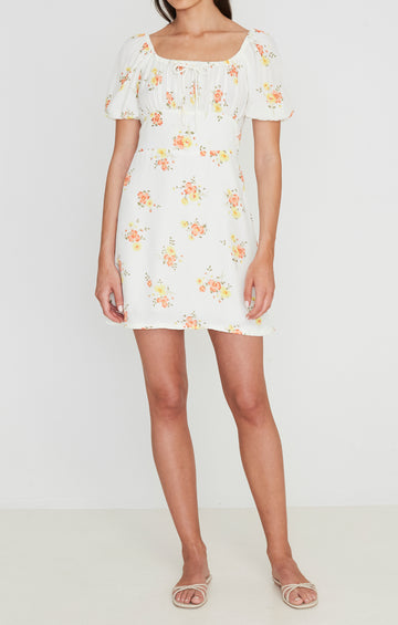 Faithfull Pippa Mini Dress Camargue Floral