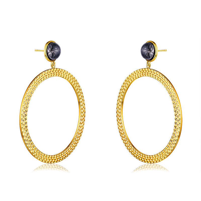 F + H Bianca Earring Gold - Call Me The Breeze - 4