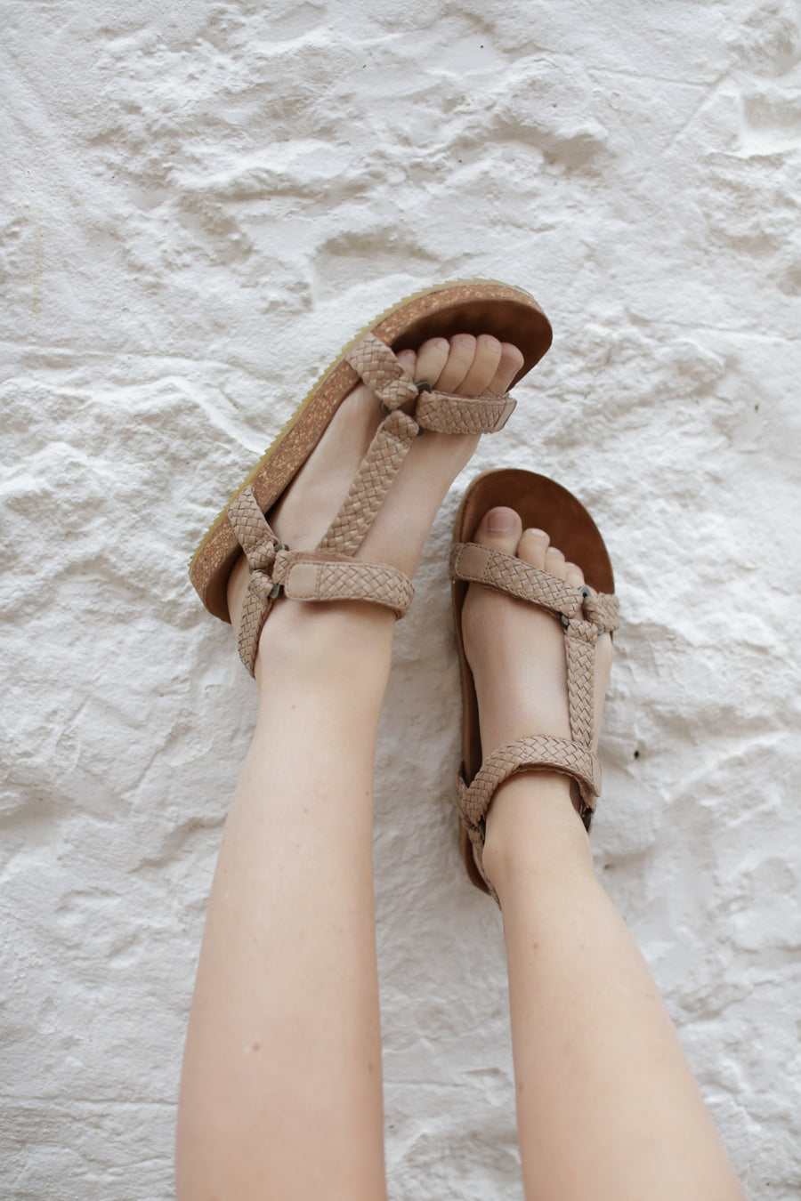 Iggy Woven Dad Sandal Taupe