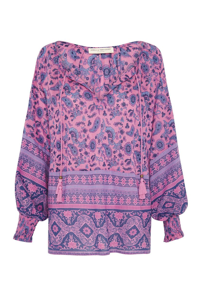 Spell Journey Blouse Mulberry