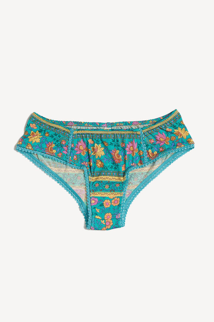 Spell Folk Town Bloomers Turquoise - Call Me The Breeze - 3