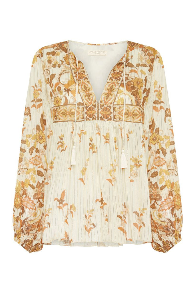 Spell Hendrix Blouse Cream