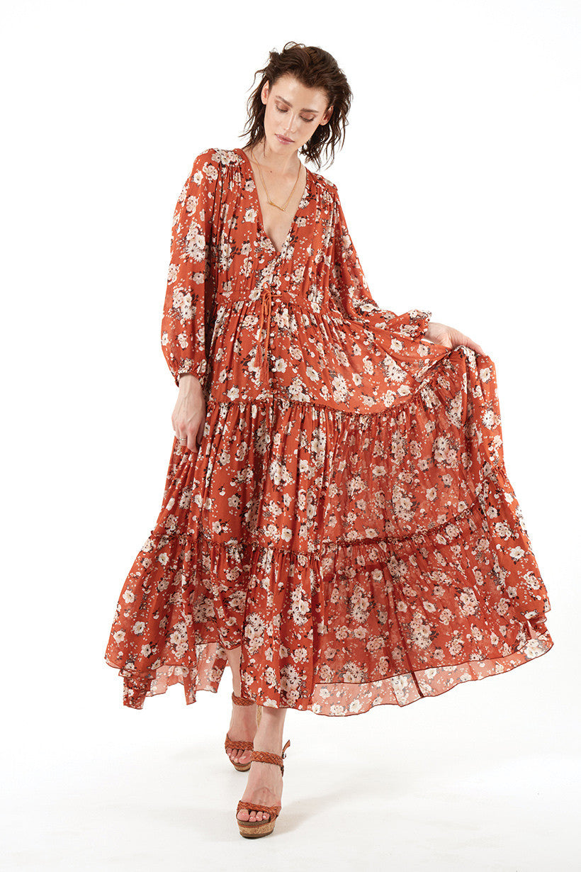 Spell Gypsy Dancer Gown Maple - Call Me The Breeze - 7