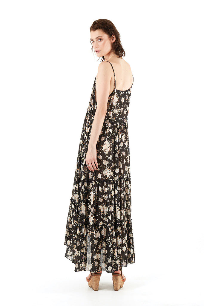 732ce5f2c37 Spell Gypsy Dancer Maxi Sundress Caviar - Call Me The Breeze - 6