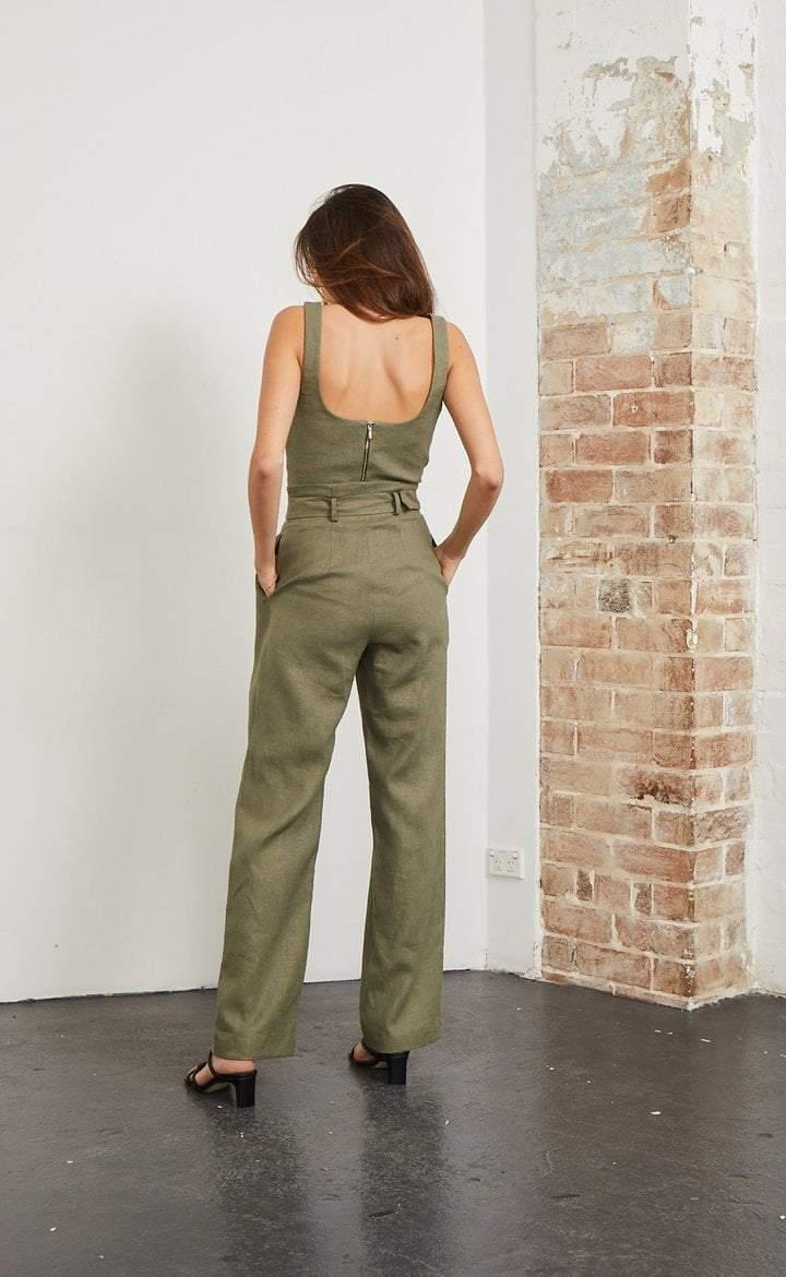 Bec and Bridge Stella Top Khaki