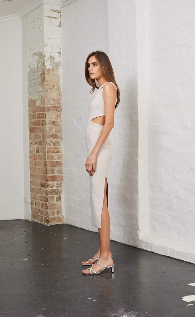 Bec and Bridge Alessandra Asym Dress Nude
