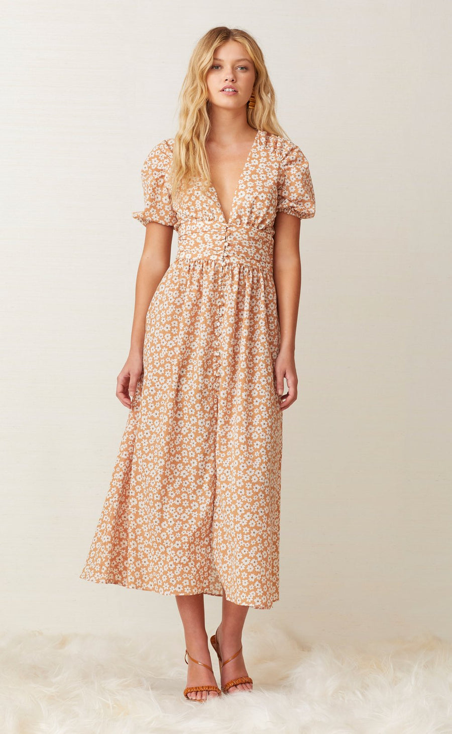 Bec and Bridge Zoe Midi Dress Floral