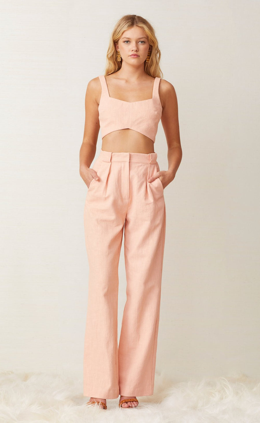 Bec and Bridge Coral Club Pant