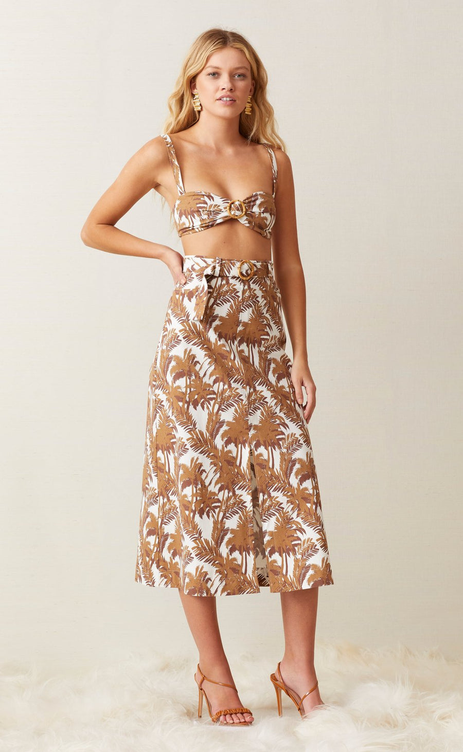Bec and Bridge Party Wave Midi Skirt
