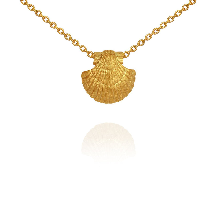 Temple of the Sun Sia Necklace Gold