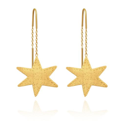 Temple Of The Sun Astra Earring Gold