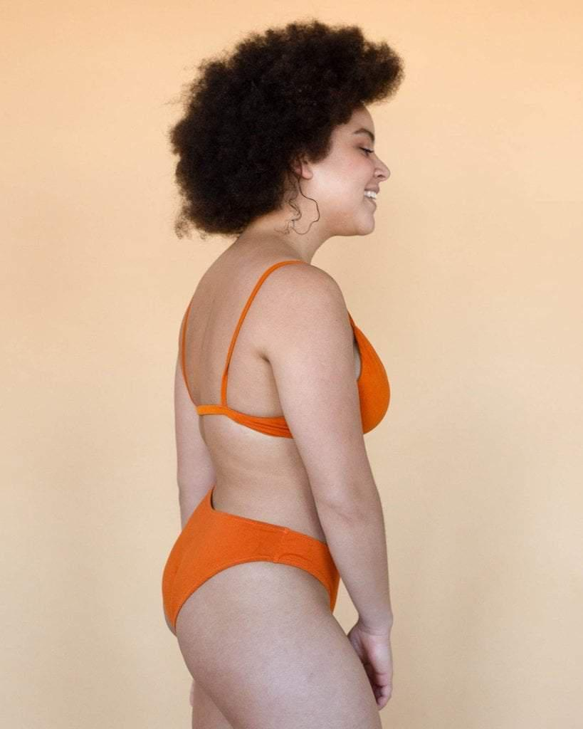 Hara Maya Low Waist Undies Pumpkin