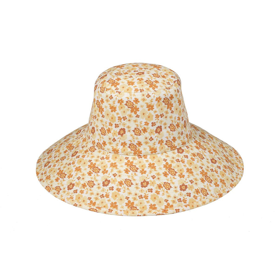 Lack of Color Holiday Bucket Hat Peach Bloom