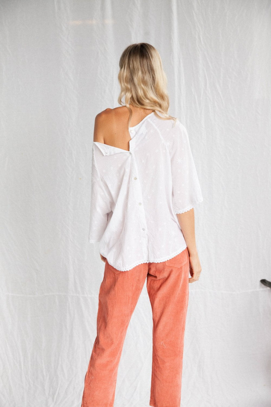 Kinga Csilla The Stella Blouse White
