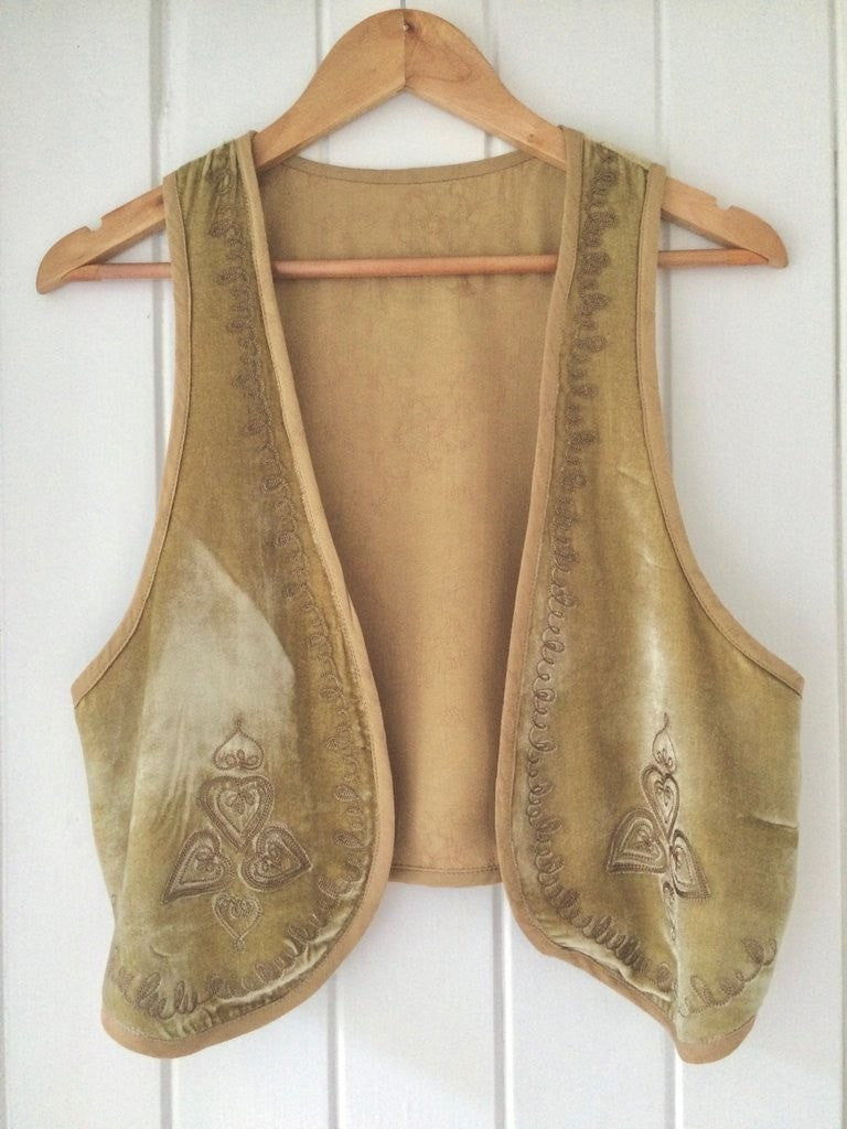Golden Brown The Label Love St Vest Sage