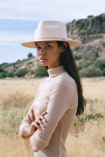Lack Of Color Ivory Zulu Fedora Hat