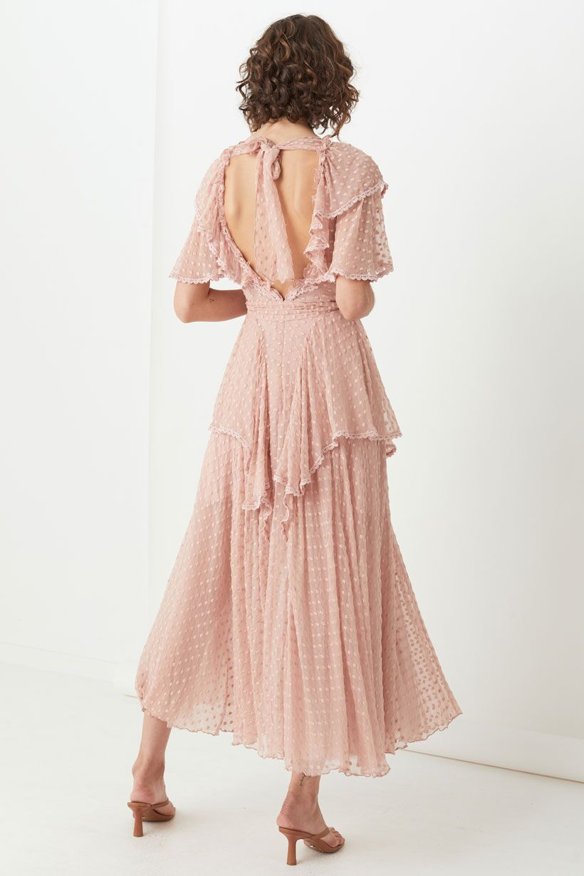 Spell Zoe Gown Rose