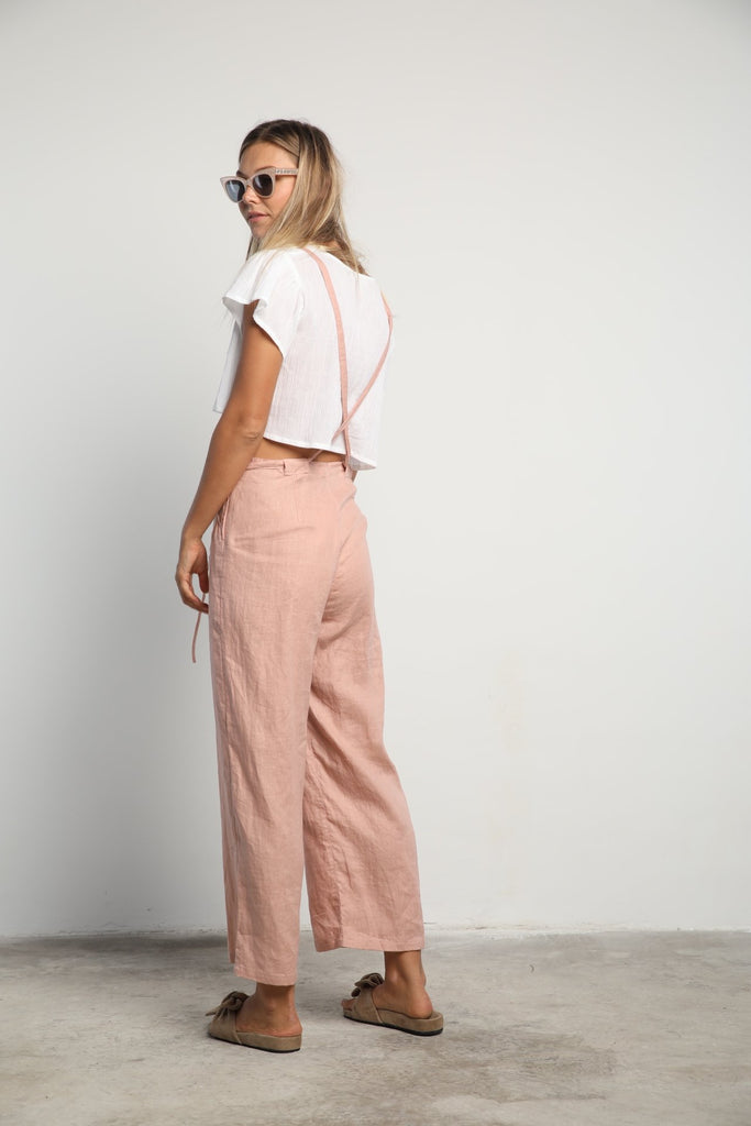 Lilya Karlie Overall Dusty Pink