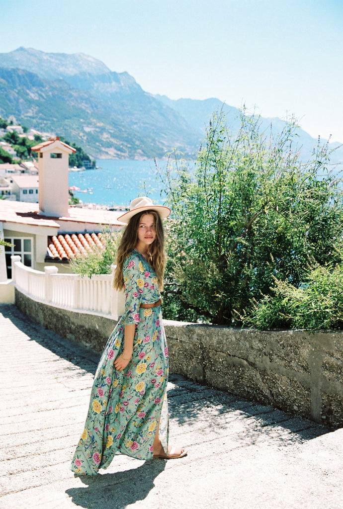 Arnhem Portofino Maxi Dress Verde