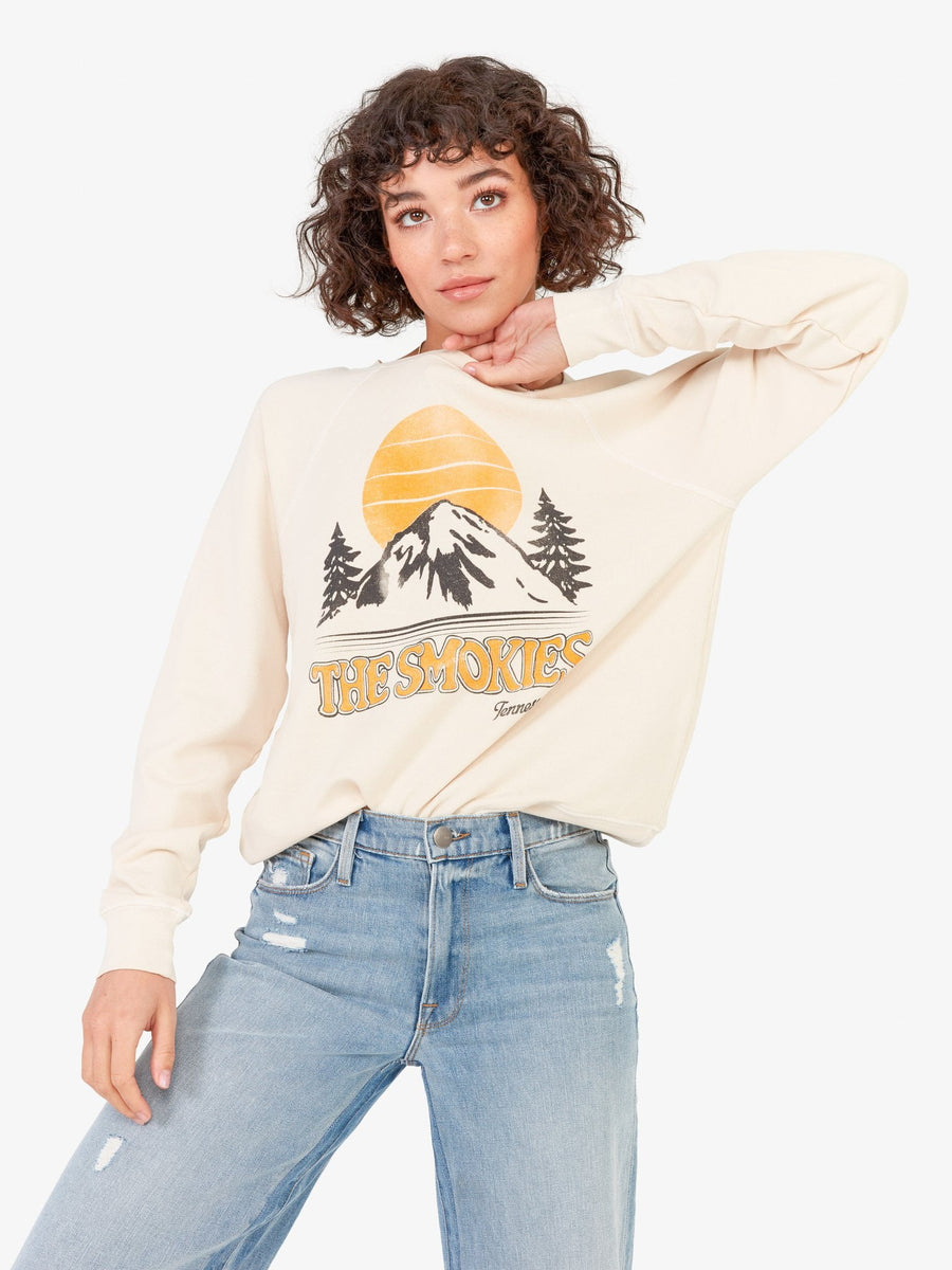 Mate The Label Vintage Pullover Smokies Bone