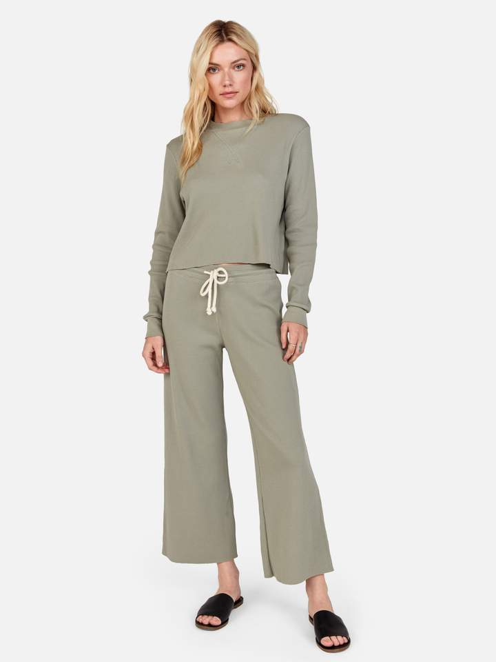 Mate The Label Ali Thermal Pant Sage