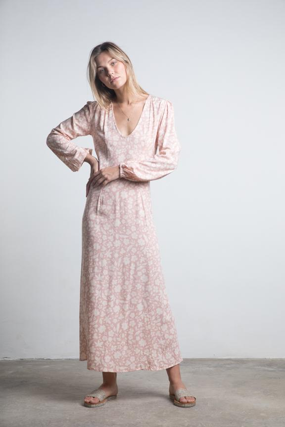 Lilya Mariposa Maxi Dress Ambrosia Clay
