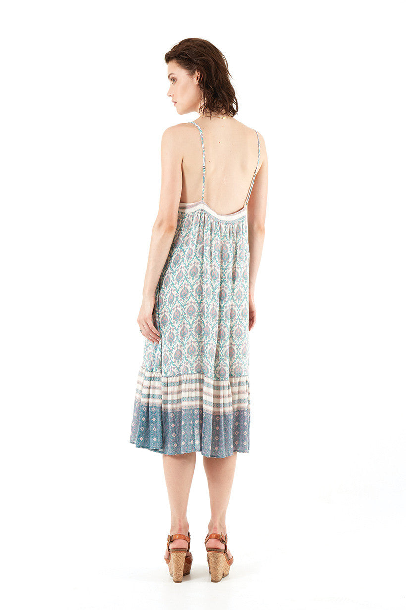 Spell Oracle Slip On Midi Sage - Call Me The Breeze - 11