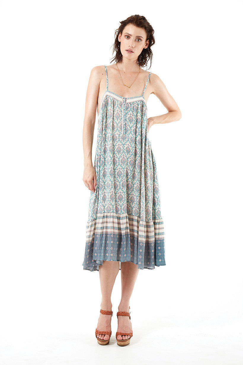 Spell Oracle Slip On Midi Sage - Call Me The Breeze - 10